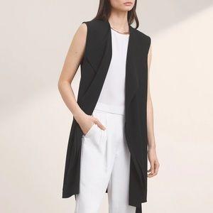 Aritzia Babaton Marcelo Vest in Black